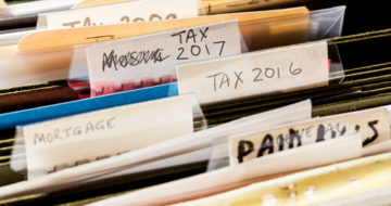 keeping your financial records organized