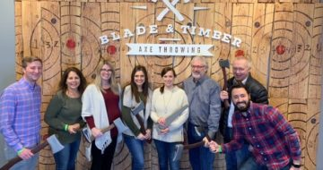 Windward Community: Windward Goes Axe Throwing